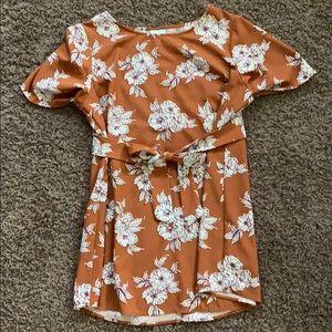 Isabel Maternity Floral Shirt
